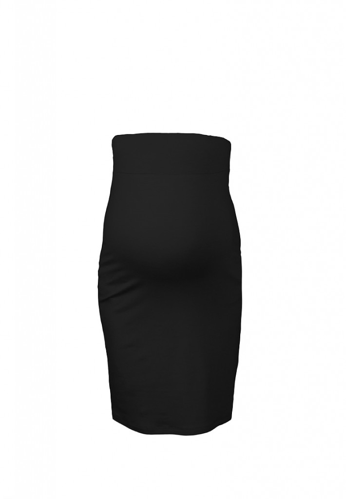 Mid-Length Pencil Maternity Skirt