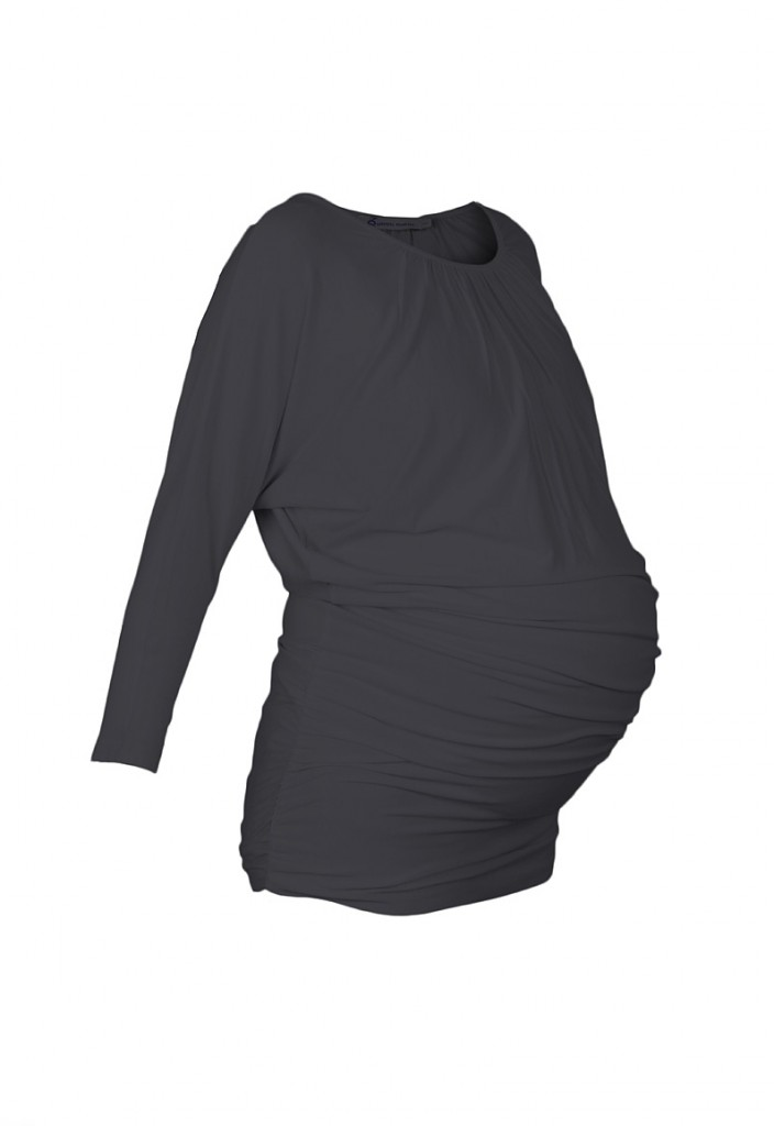 Slouch Maternity Tunic Grey
