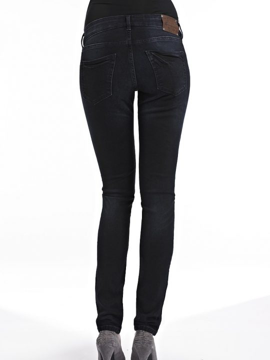 Dark Denim Skinny Maternity Jeans