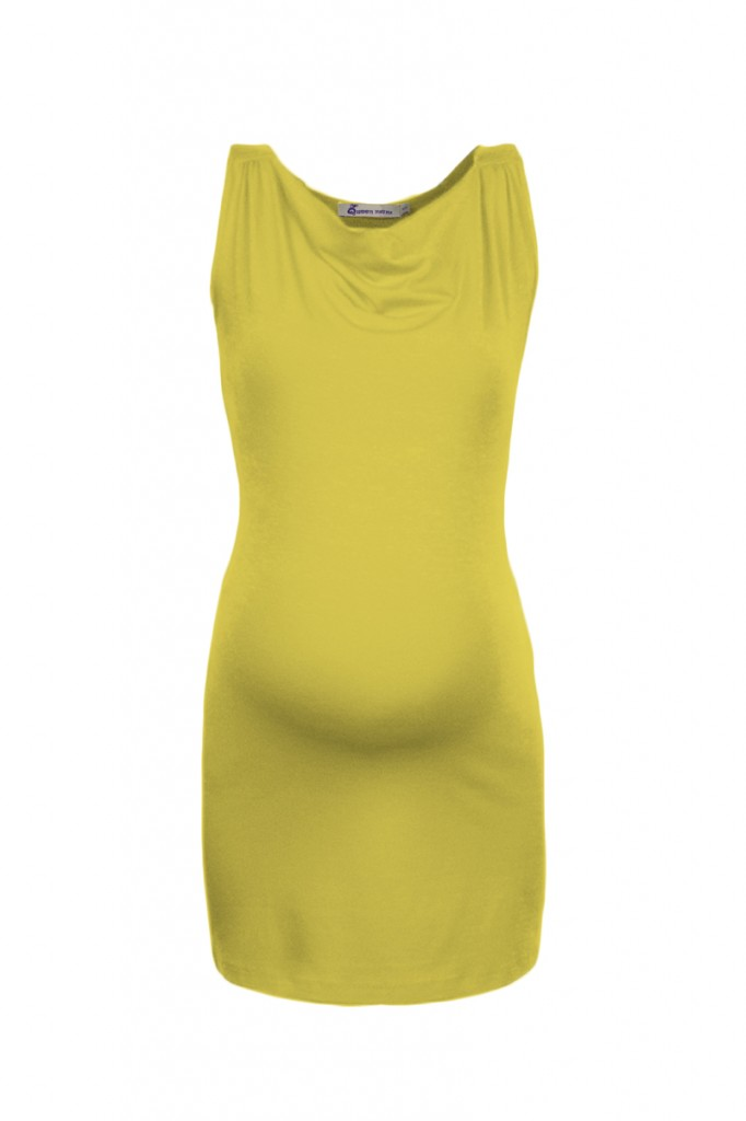 Yellow Summer Maternity Tunic