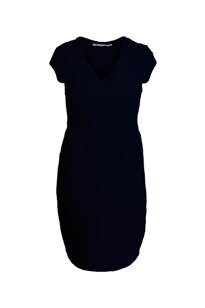 Navy Nursing Maternity Dress