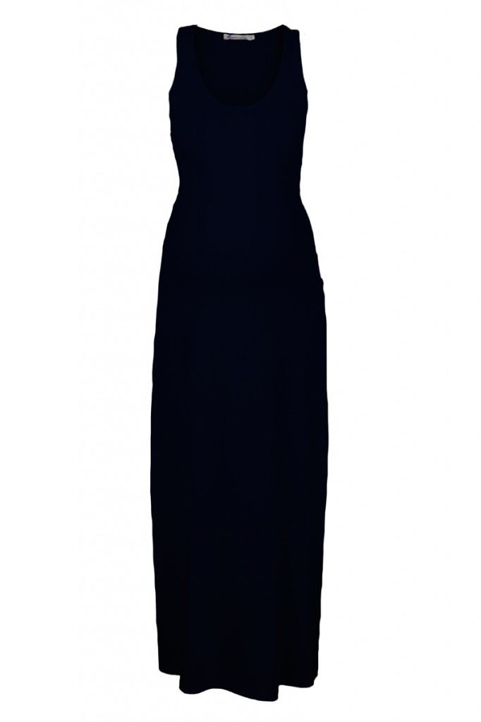 Maternity Maxi Dress in Navy