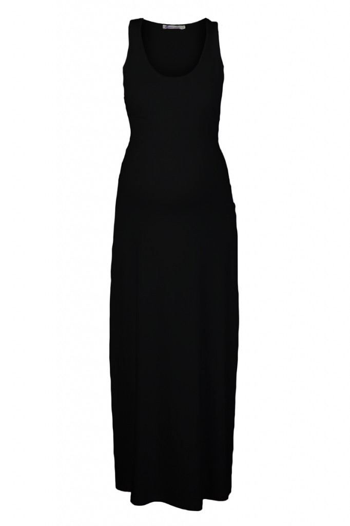 Maternity Maxi Dress in Black