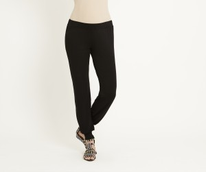 Black Maternity Harem Pants