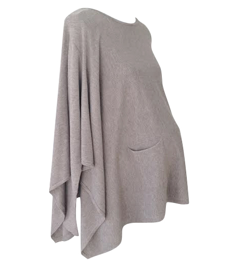 cashmere blend maternity poncho