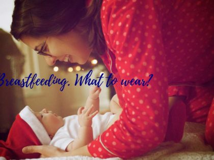 Make breastfeeding somewhat easier with the right clothes!