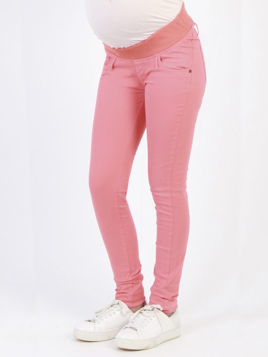 summer coral maternity jeans