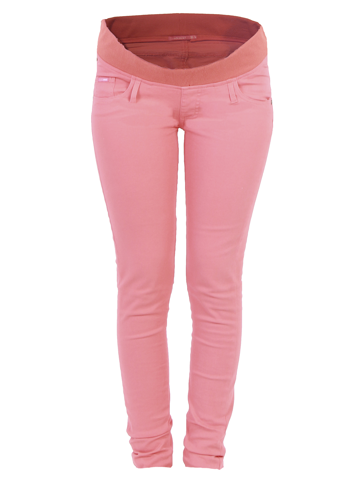0469c958662a7 Coral Skinny Fit Maternity Jeggings With Free UK Shipping & Returns