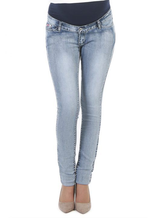 Stylish comfortable maternity jeans