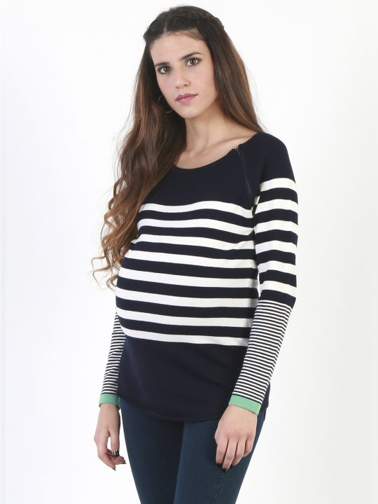 Trendy maternity jumper